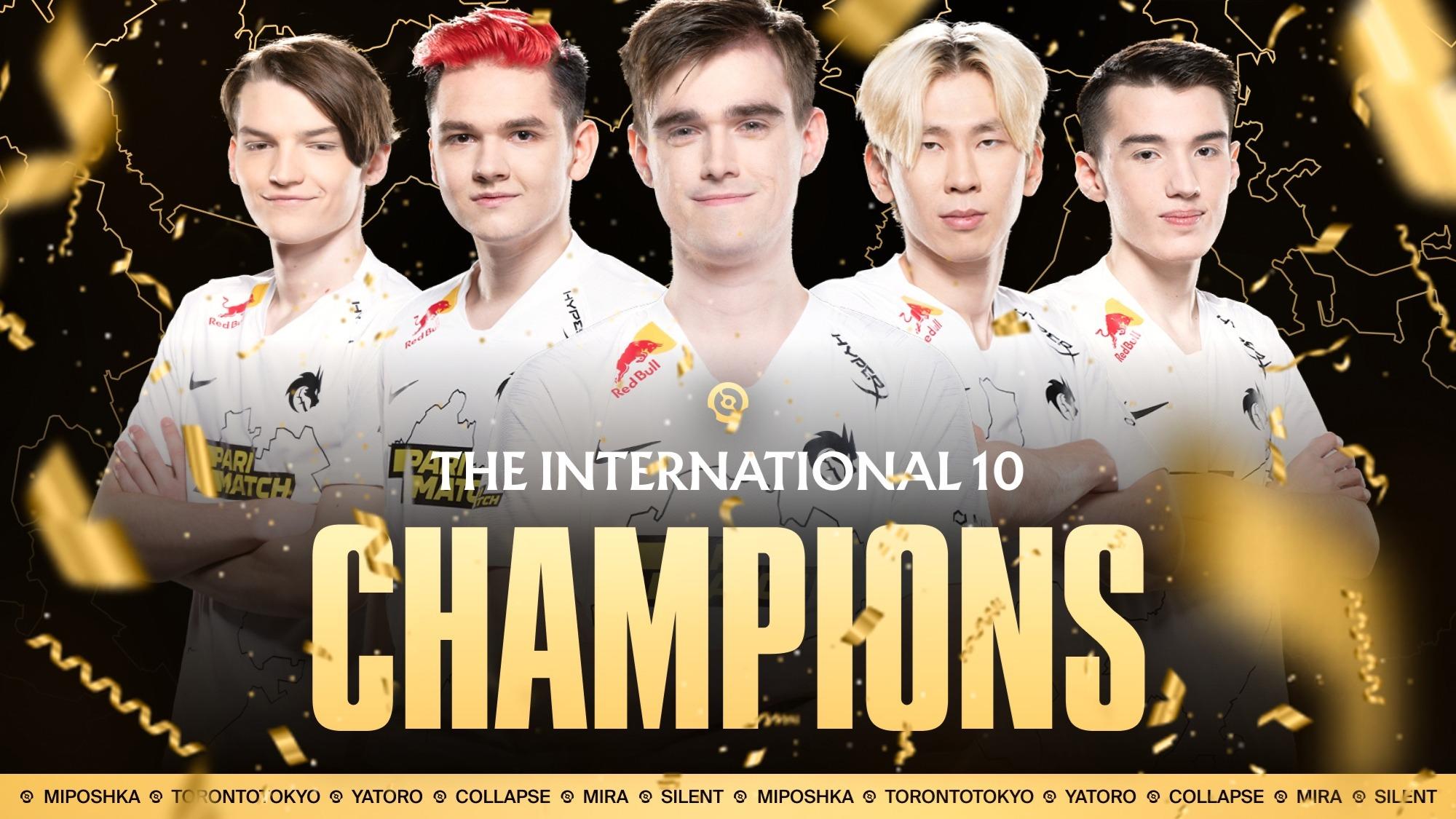 Team Spirit wint The International 10 en ruim 18 miljoen dollar