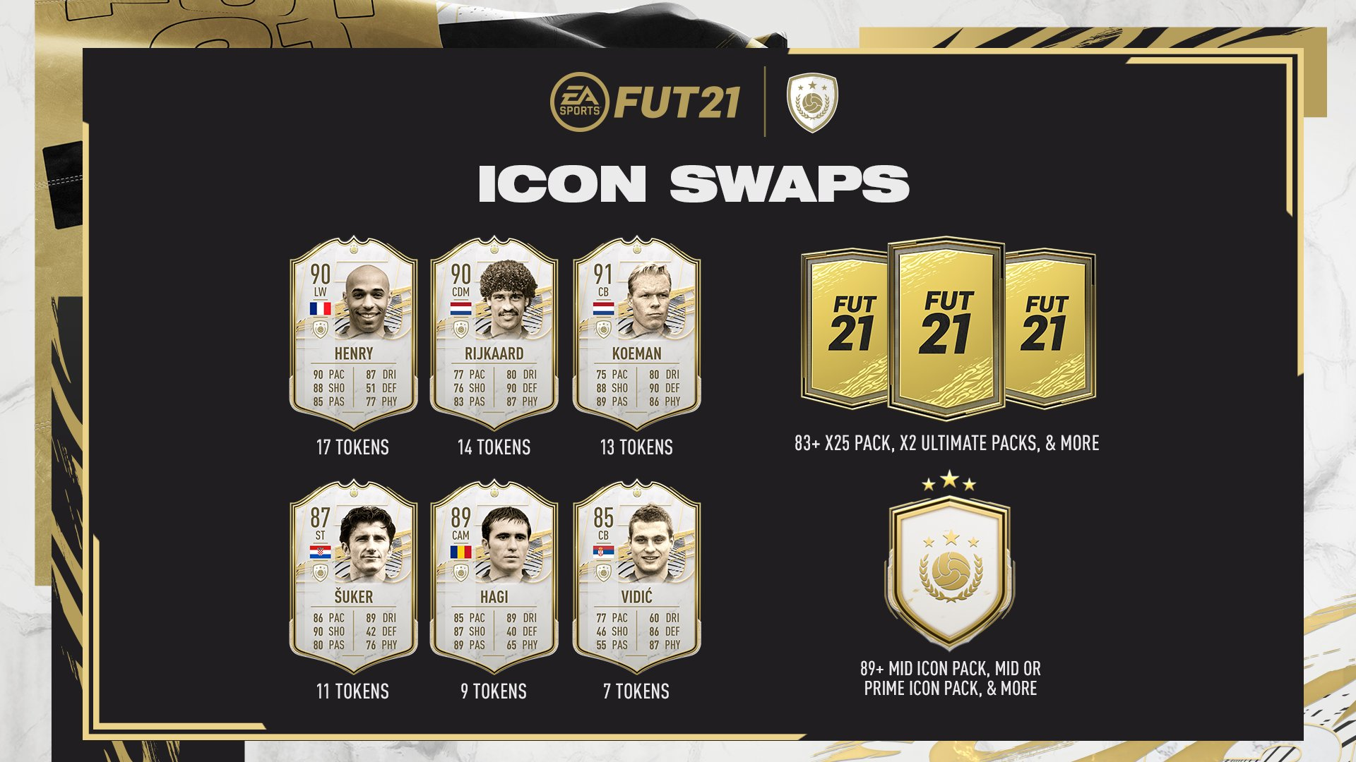 FIFA 21 Ultimate Team: Icon Swaps 1