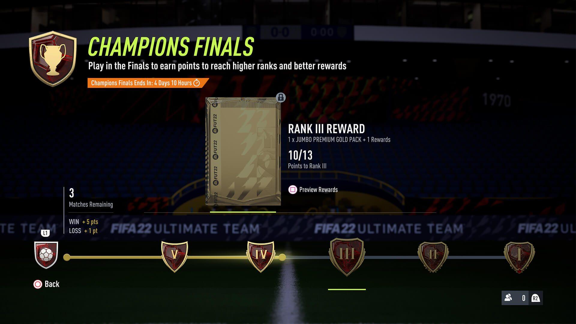 Dit zijn alle FIFA 22 Weekend League Rewards