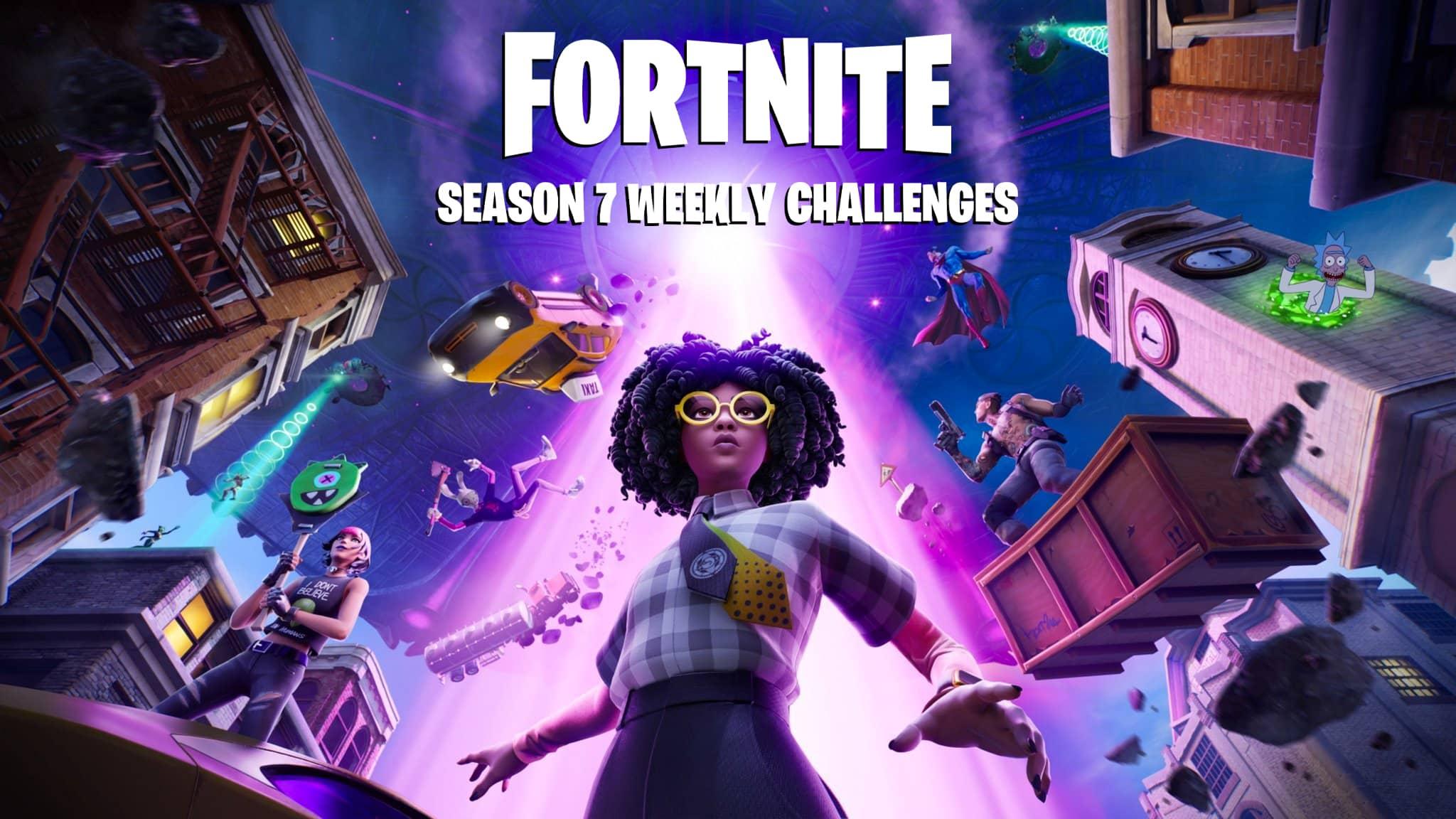 Zo voltooi je alle challenges in Fortnite Season 7 Week 7