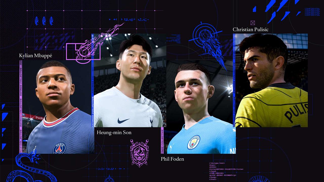 Dit zijn de FIFA 22 Player Ratings