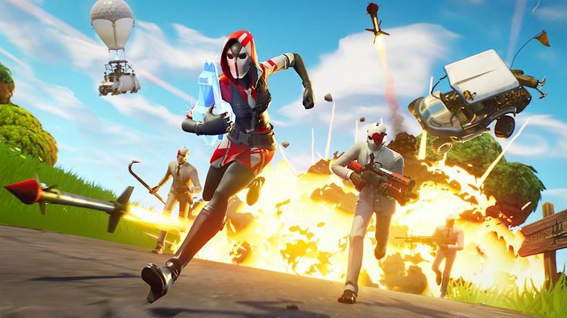 Fortnite op de PlayStation 5 en Xbox Series X