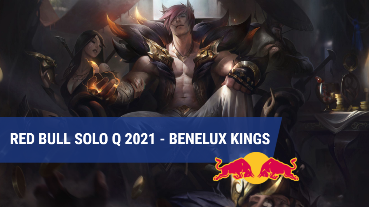 Red Bull Solo Q 2021 trapt af met The Benelux Kings-event