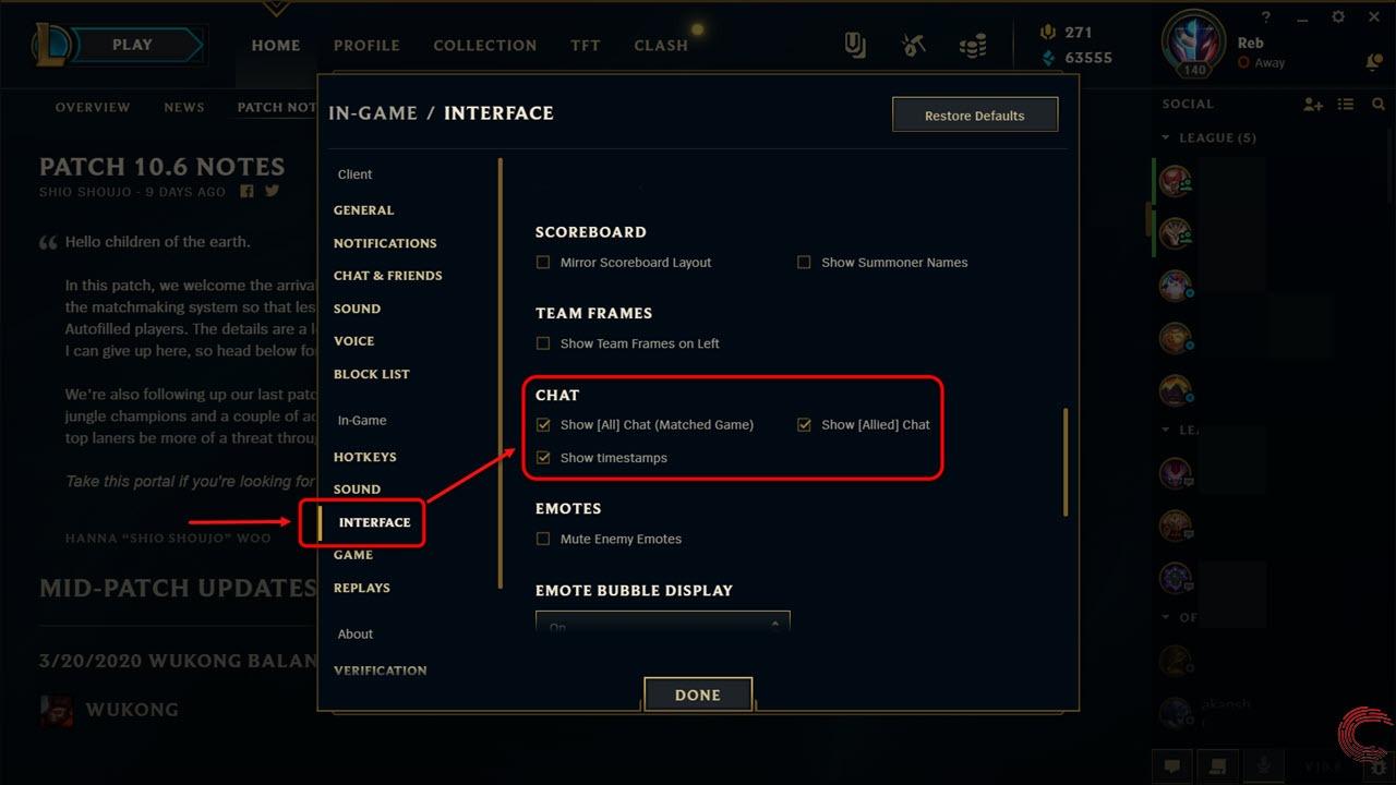 League of Legends gaat /All Chat uitschakelen in matchmaking