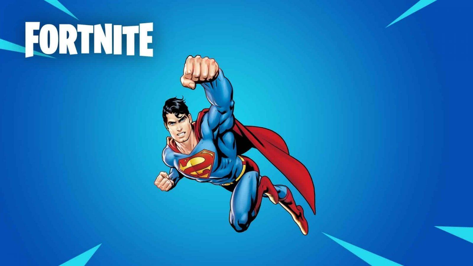 Superman komt mogelijk naar Fortnite Season 7