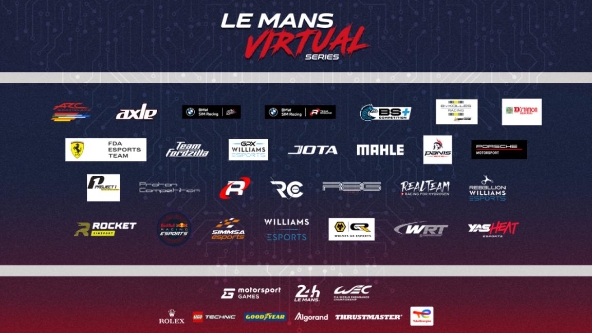 Race tegen professionele teams in de Le Mans Virtual Series