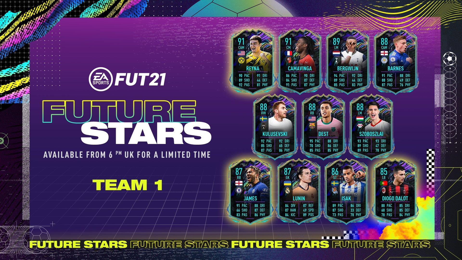 FIFA 21 Ultimate Team: Future Stars