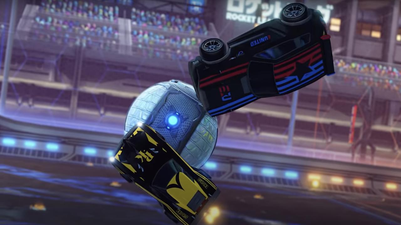 Rocket League Esports shop update voor aanvang van de RLCS