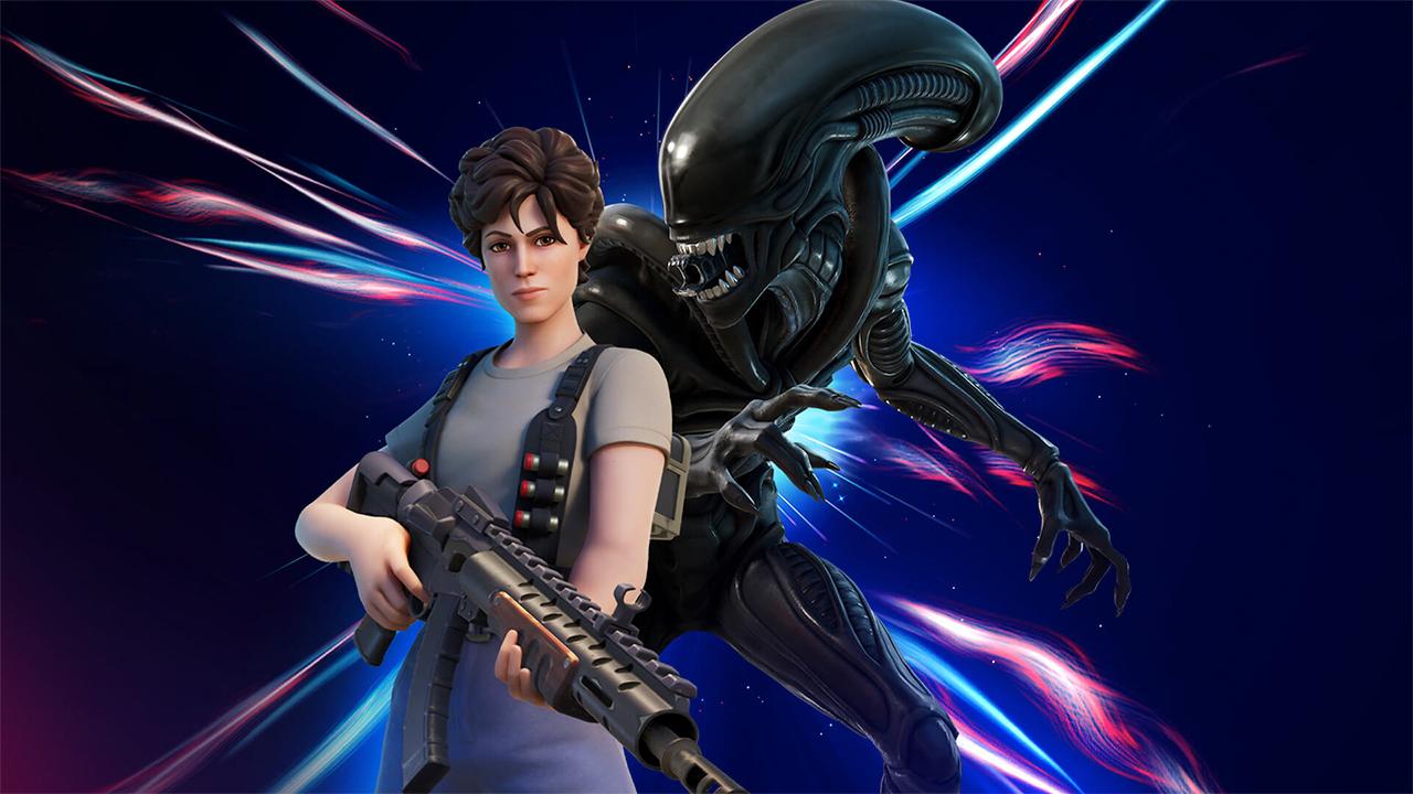 Ripley en Xenomorph uit Alien beschikbaar in Fortnite