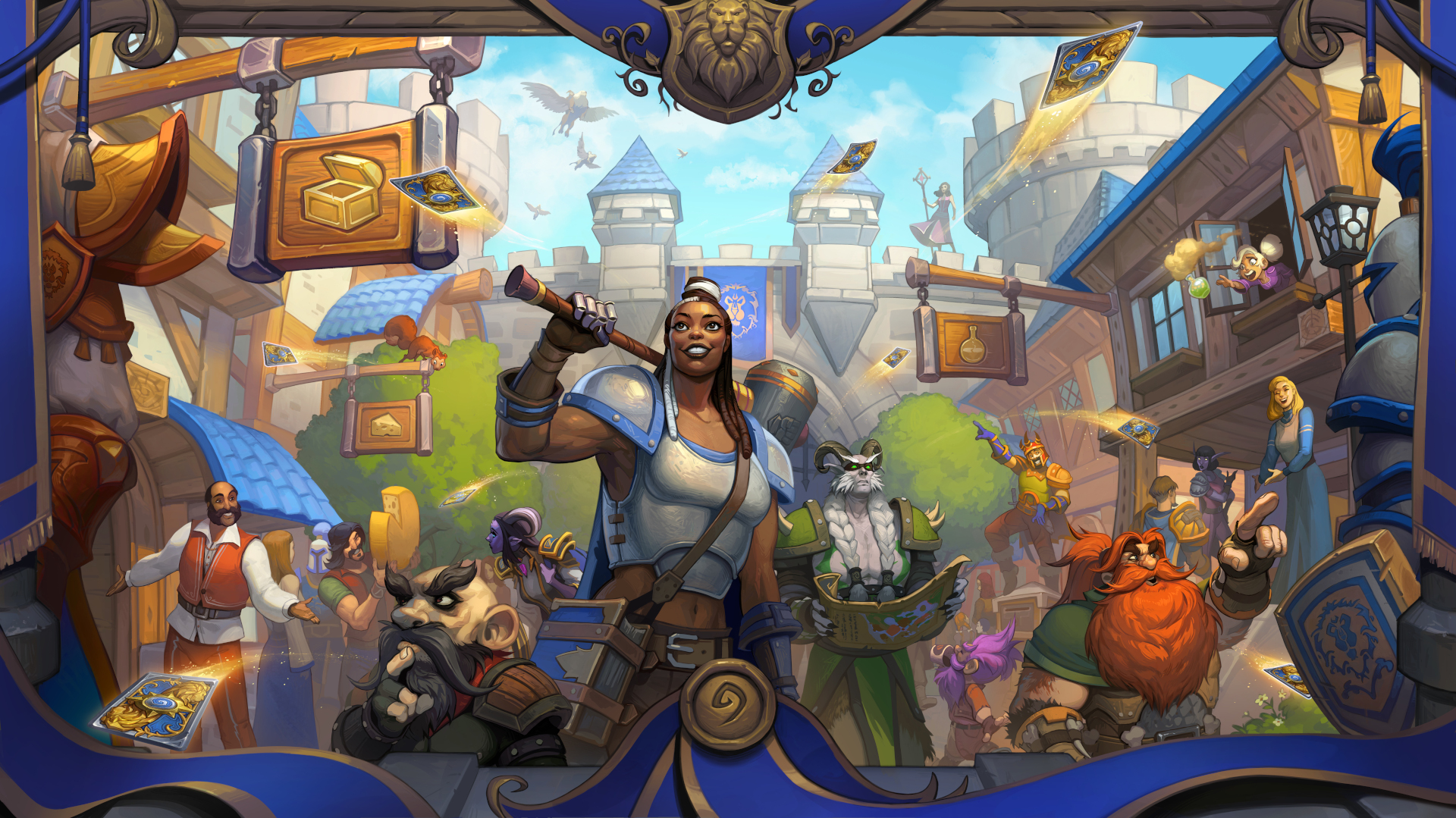 Alles over Hearthstone: United in Stormwind