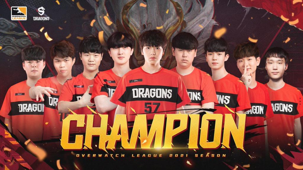 Shanghai Dragons winnen Overwatch League-titel van 2021