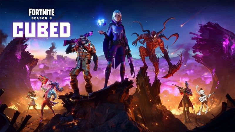 Alle unvaulted & vaulted wapens in Fortnite Season 8: Cubed