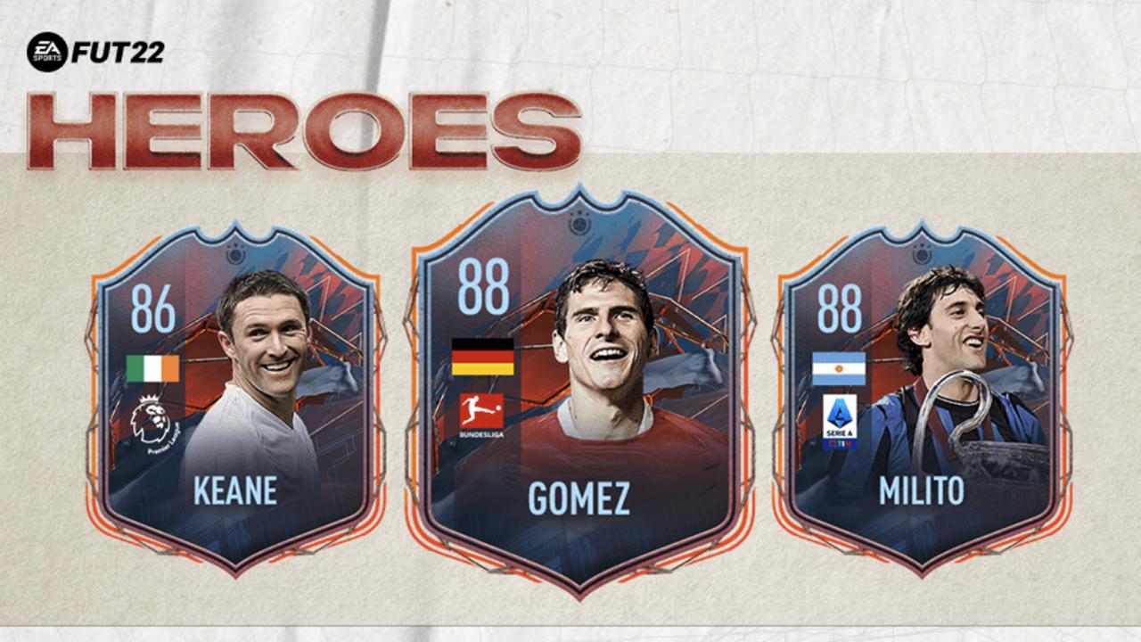FIFA 22 Ultimate Team Heroes: alles wat je moet weten
