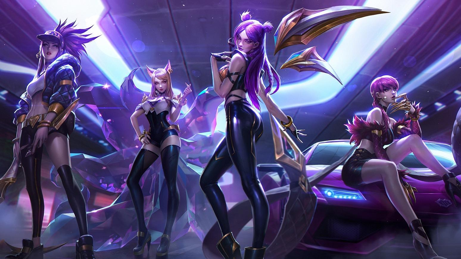 """POP/STARS"" van League of Legends-groep KD/A komt naar Just Dance 2022"