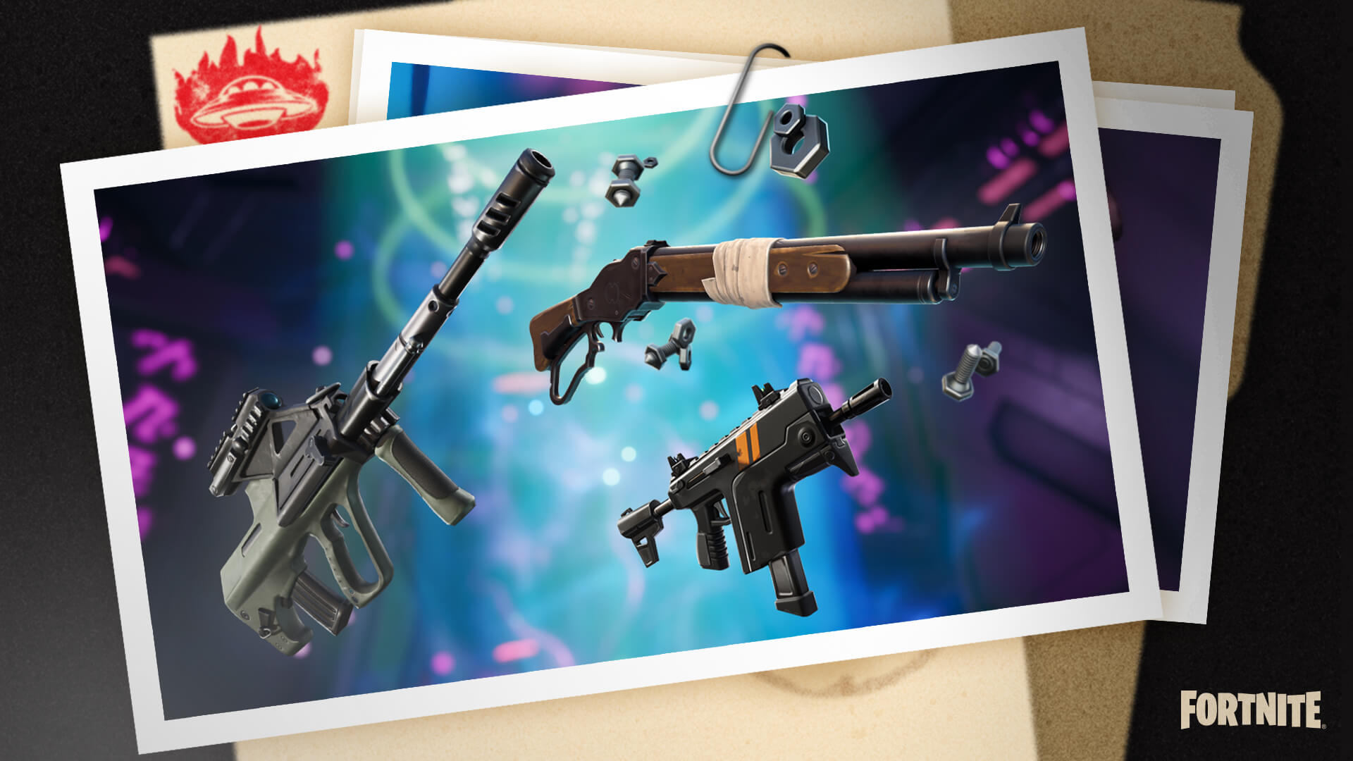 Alle unvaulted & vaulted wapens in Fortnite Season 7