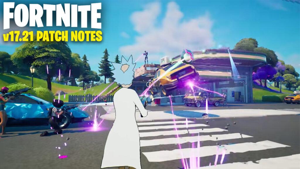 Alle content die onderweg is in de Fortnite 17.21 update