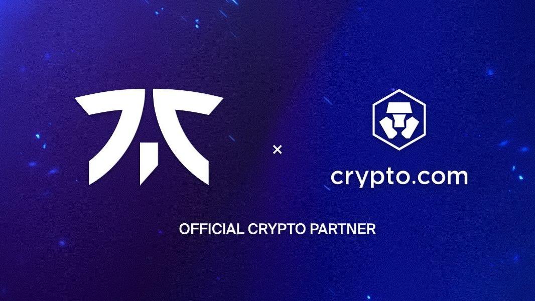 Fnatic kondigt Crypto.com aan als partner met miljoenendeal