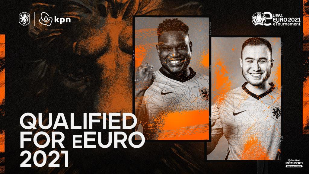 E_Oranje PES-spelers kwalificeren zich voor EK