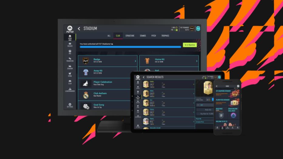 De FIFA 22 Web App is live!