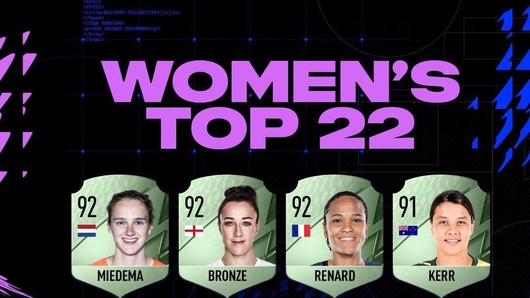 Miedema en Martens voetbalsters met hoogste FIFA 22-ratings