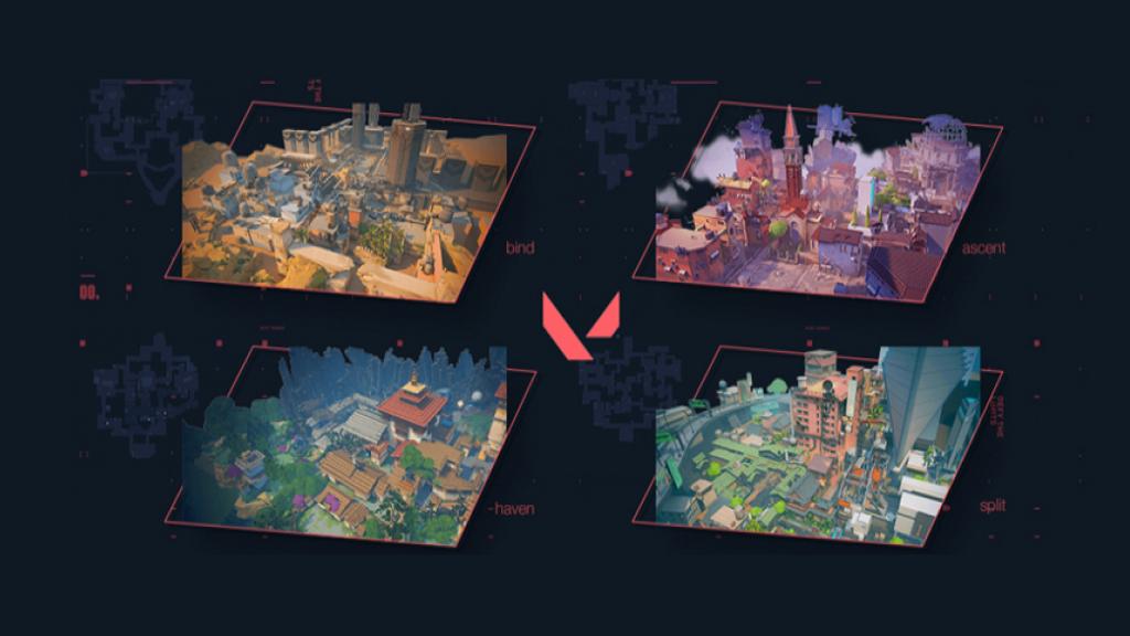 Dit zijn de Valorant maps