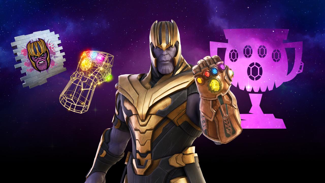 Maak kans op de Thanos Skin in de Fortnite Thanos Cup