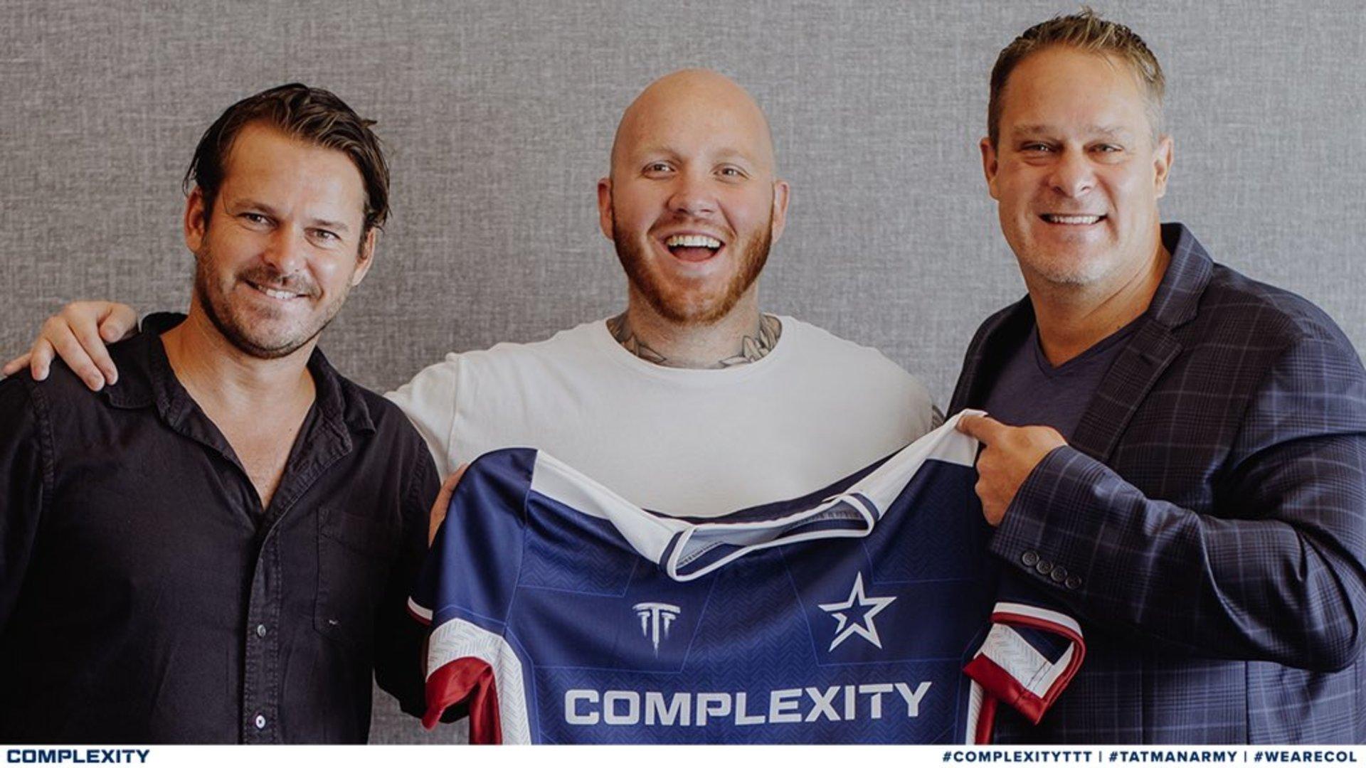 Streamer TimTheTatMan wordt mede-eigenaar van Complexity Gaming