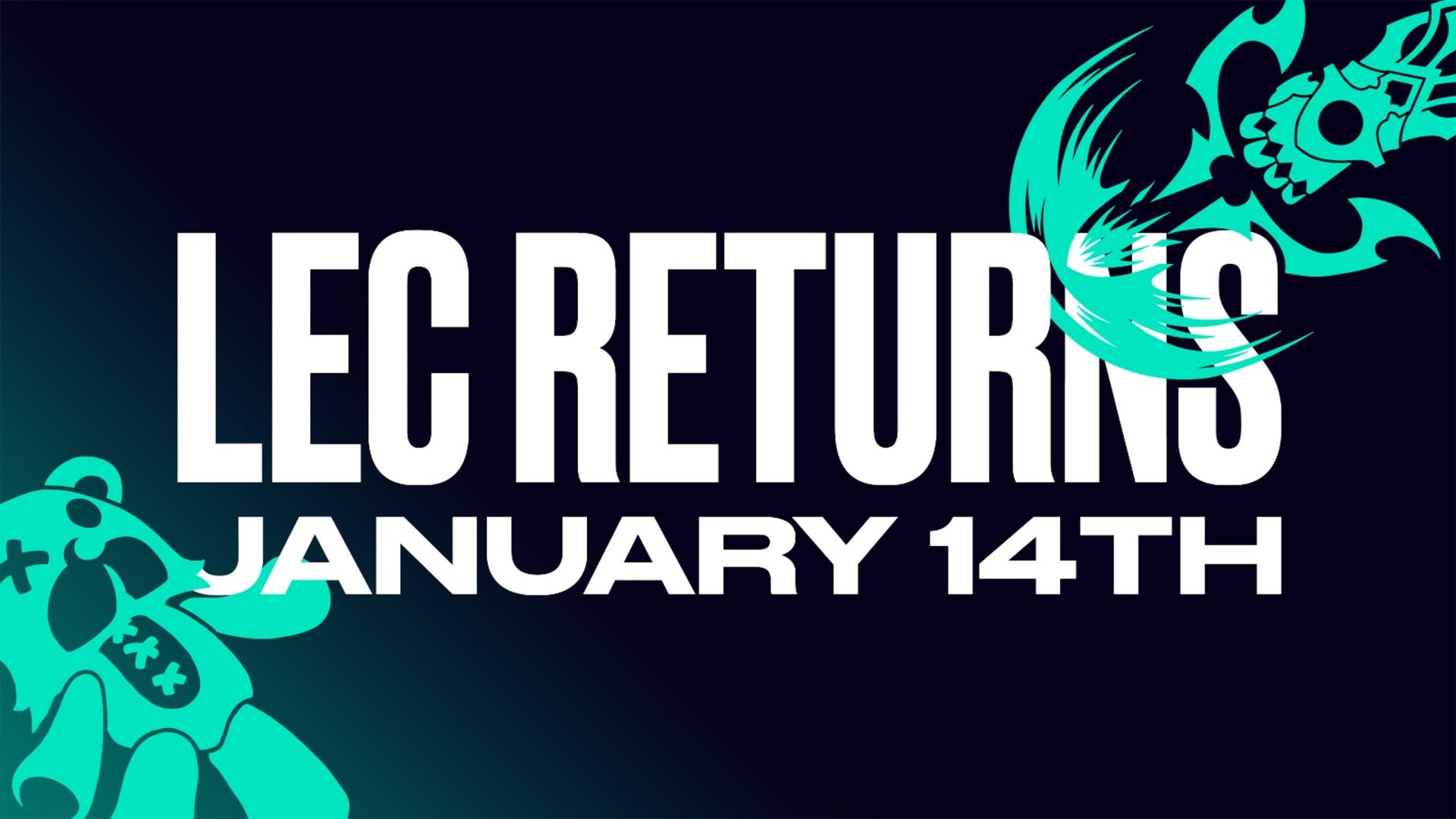 Riot Games maakt startdatum nieuw LEC-seizoen bekend